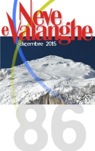 """Rivista """"Neve e Valanghe"""": numeri precedenti on-line – 86"""