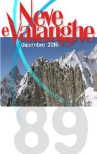 """Rivista """"Neve e Valanghe"""": numeri precedenti on-line – 89"""
